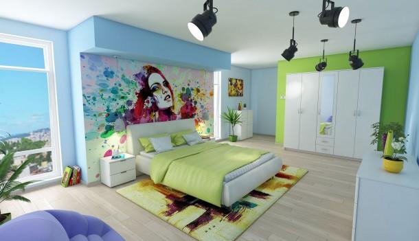 Stilul Multicolor