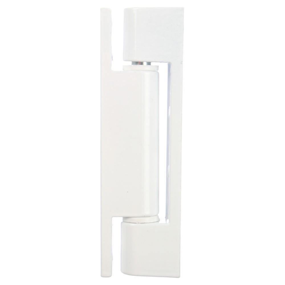 Balama simpla pentru ferestre, alb, 90 x 15 mm