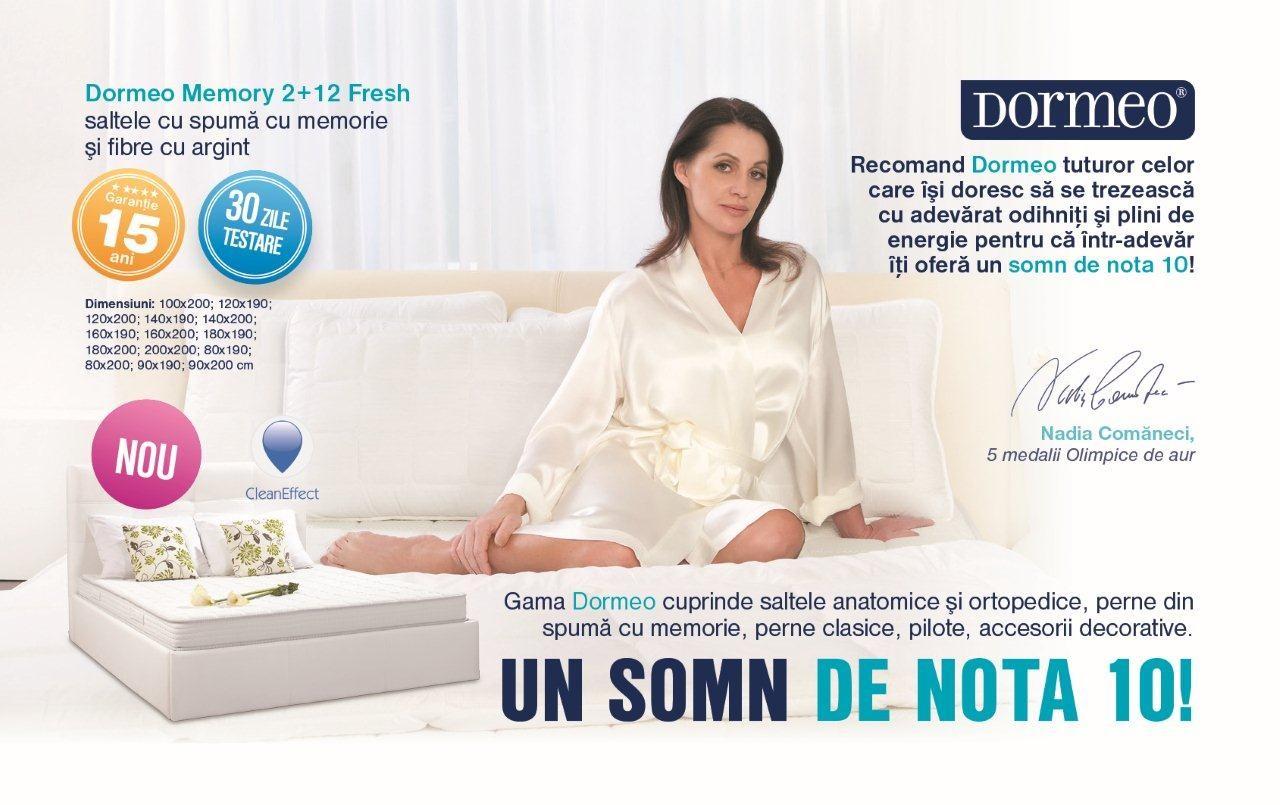Dedeman Saltea Dormeo Memory 2+12 Fresh 100x200   Dedicat