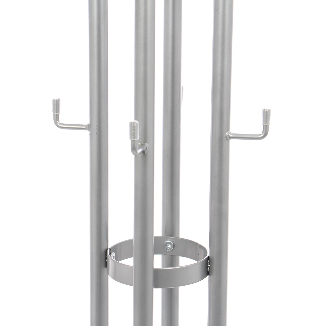 Cuier hol tip pom ST25184 cu 12 agatatori, gri, 365 x 520 x 1700 mm, 1C