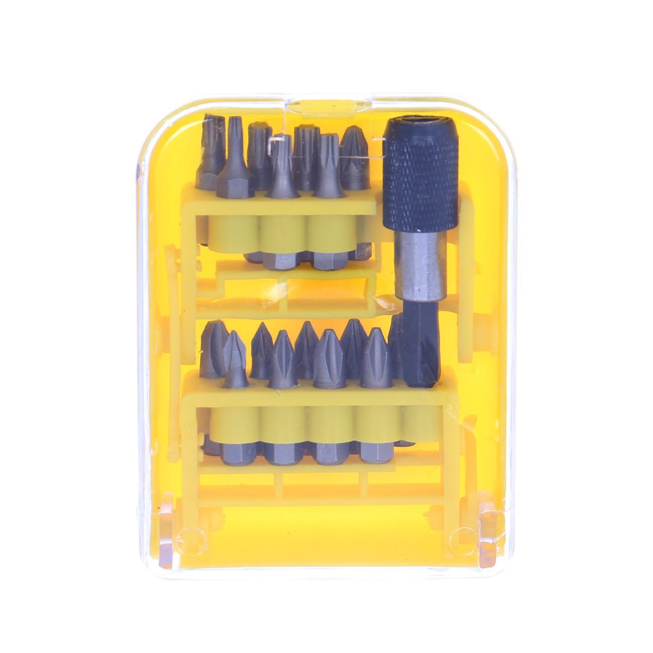 Biti pentru insurubare + prelungitor magnetic, Lumytools LT66090, set 16 bucati
