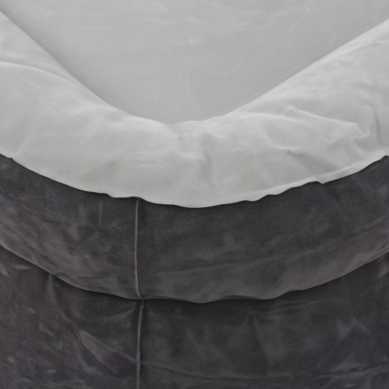 Saltea gonflabila Intex 64414, pentru camping, 2 persoane, 203 x 152 x 46 cm, cu pompa electrica