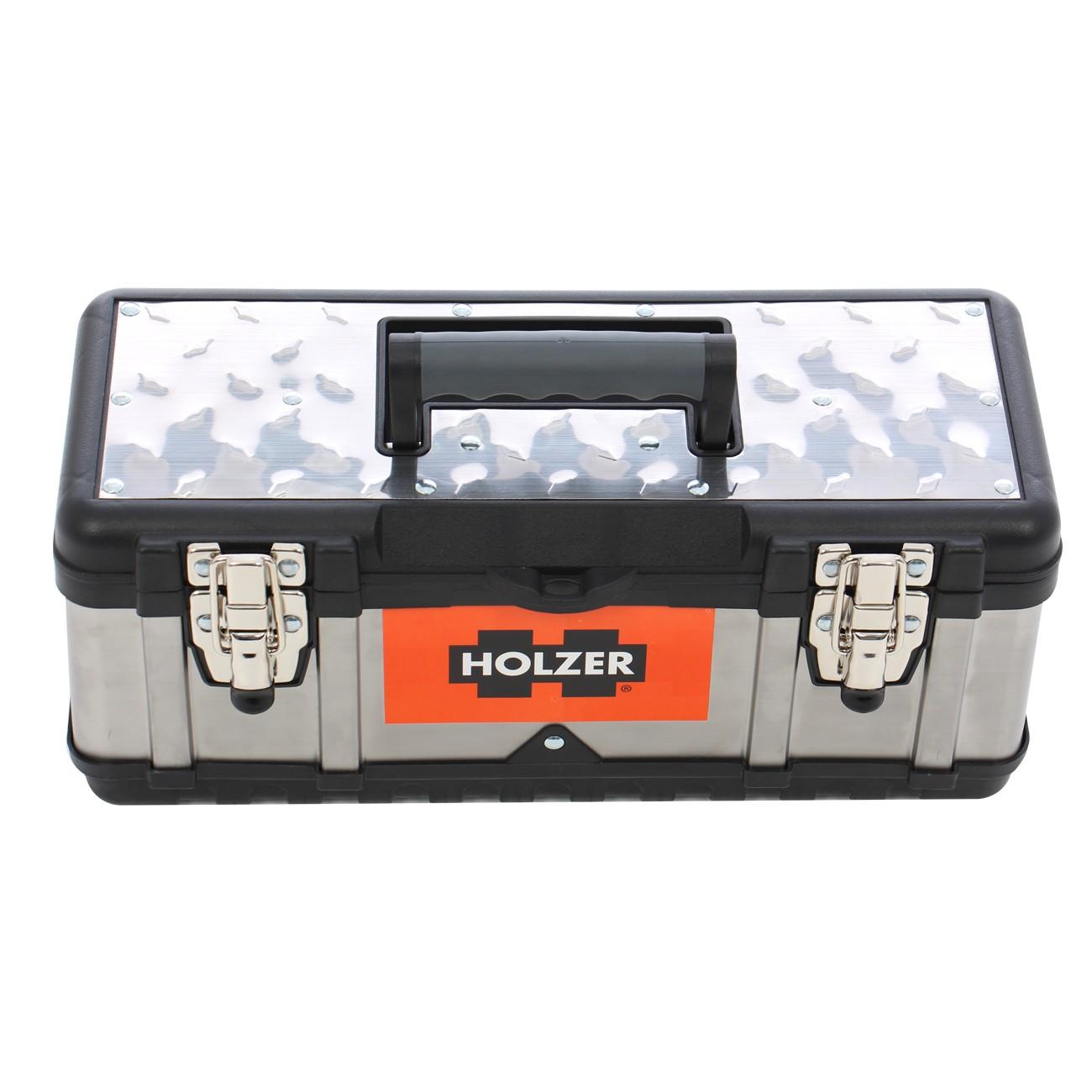 Cutie metalica pentru scule, Holzer PT14099-1, 390 x 180 x 170 mm