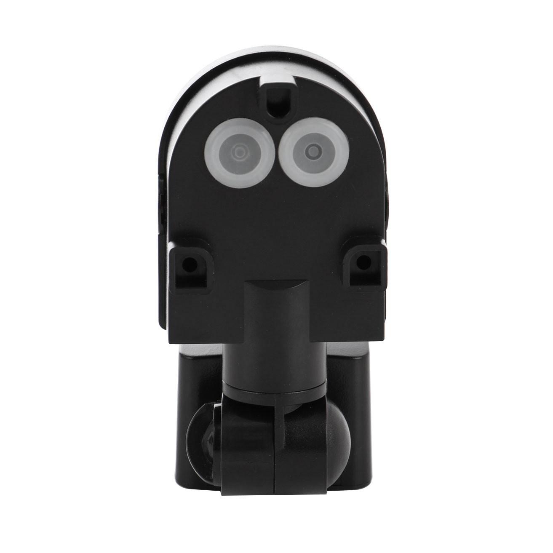 Senzor de miscare Hepol, exterior (IP44), negru, 180 grade