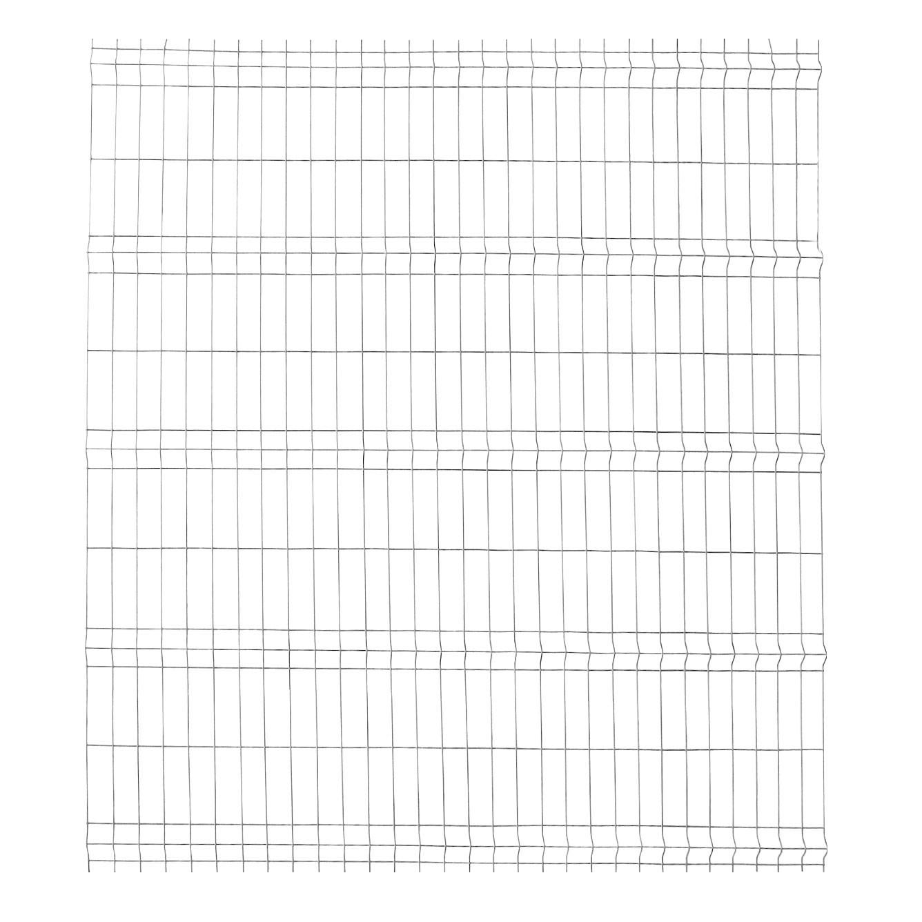 Panou gard zincat bordurat Soft 2000 x 2000 mm