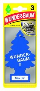 Odorizant auto pachet promo 2+1 Wunder-Baum New Car
