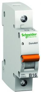 Intrerupator automat modular Schneider Electric Domae 12483 1P 25A