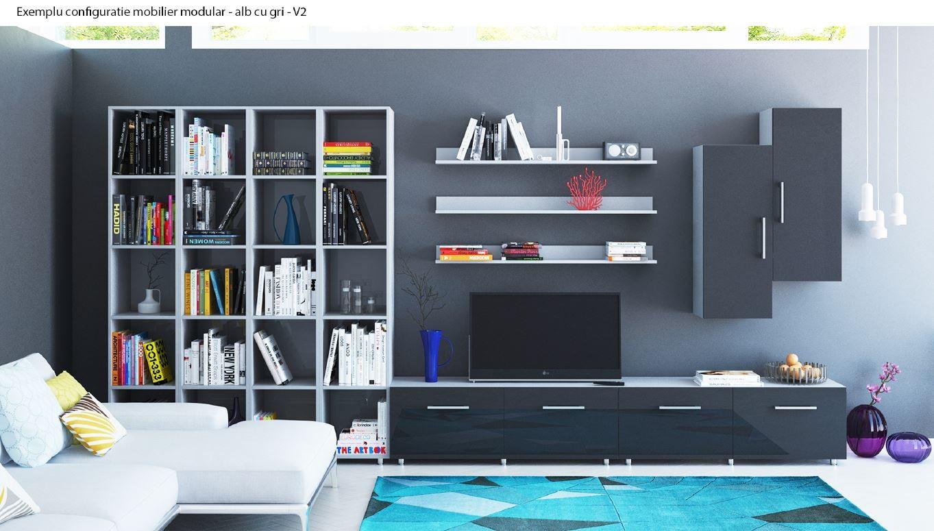 Comoda cu sertar Valentino 800 LV12, diverse culori, 80 x 45 x 45 cm, 1C