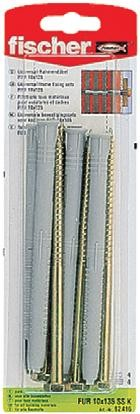 Diblu universal din nylon, cu surub cu cap hexagonal, 10 x 135 mm