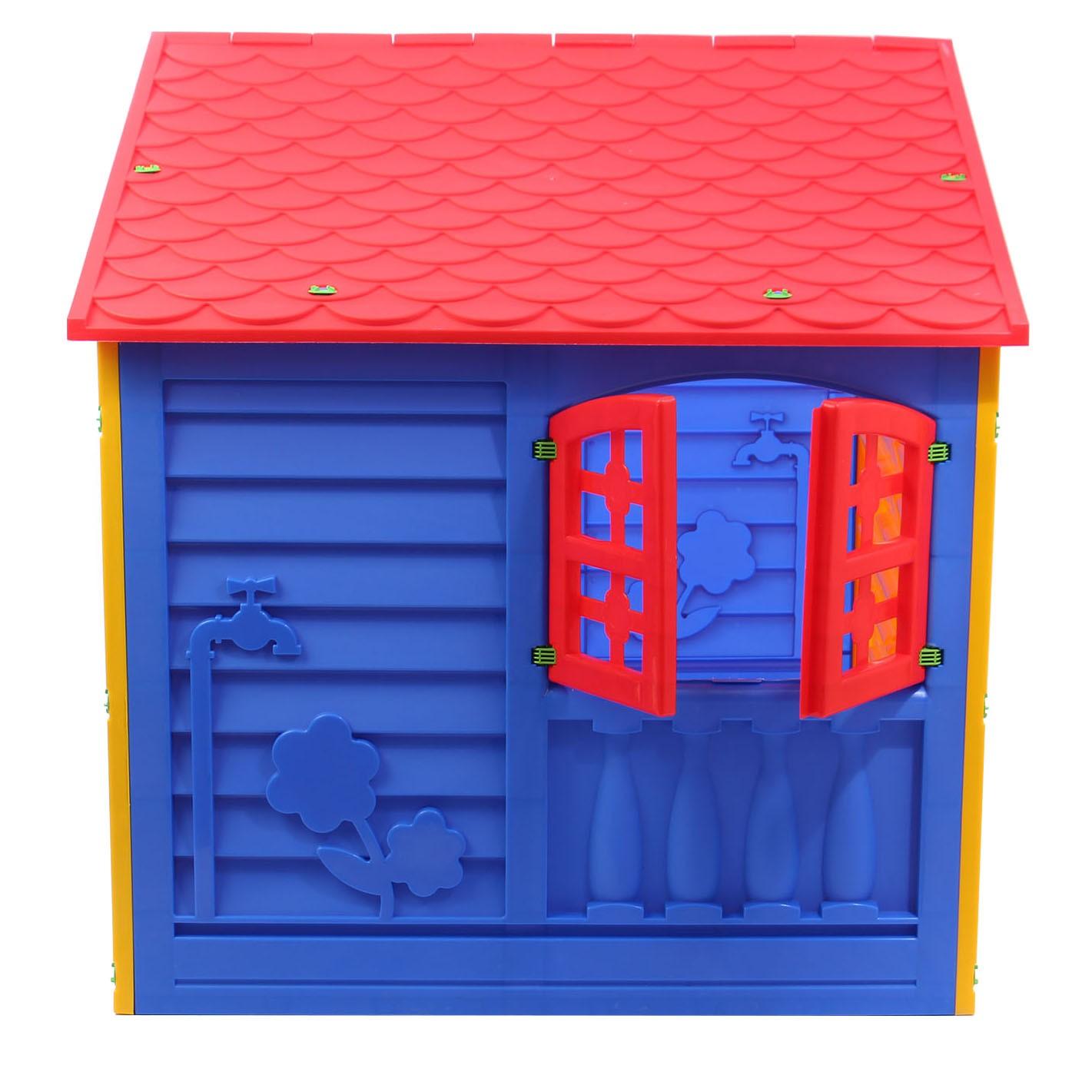 Casuta plastic copii 130x109x115 cm.