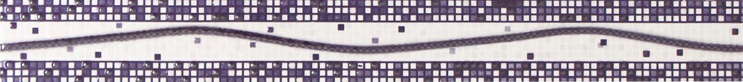 Brau faianta Inci lila lucios 4.6 x 40 cm