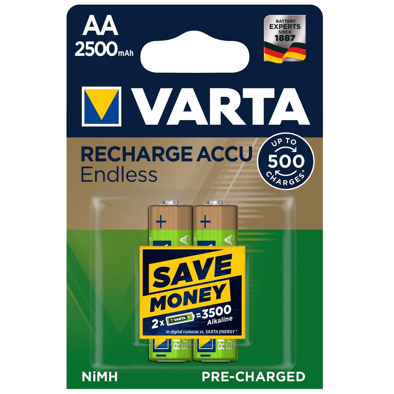 Acumulator Varta Endless R6 ( AA ) 2500 mAh, 2 buc