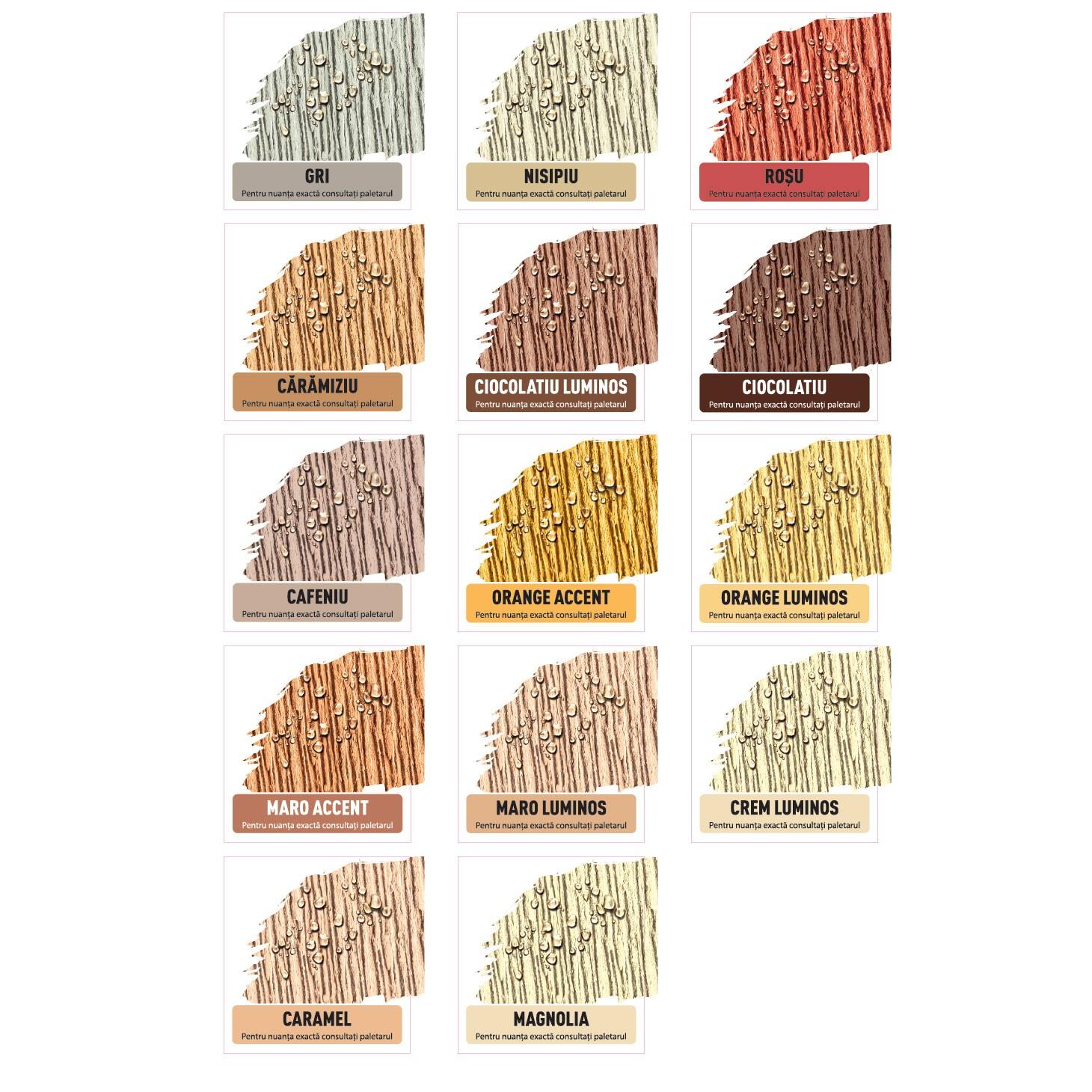 Paleta De Culori Tencuiala Decorativa.Dedeman Tencuiala Decorativa Acrilica Interior Exterior Danke
