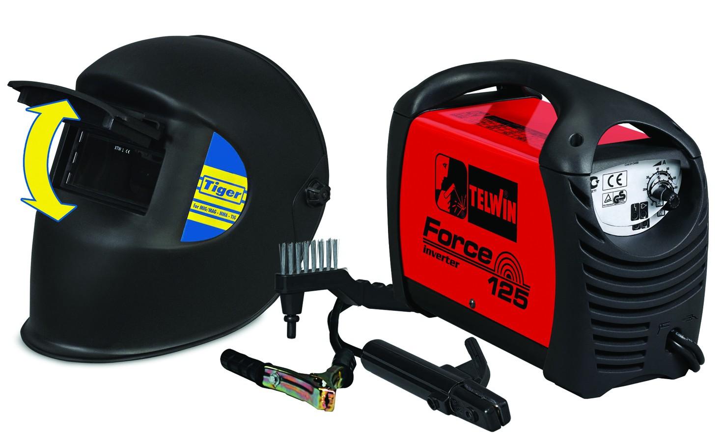 Invertor sudura Force 125  +  masca