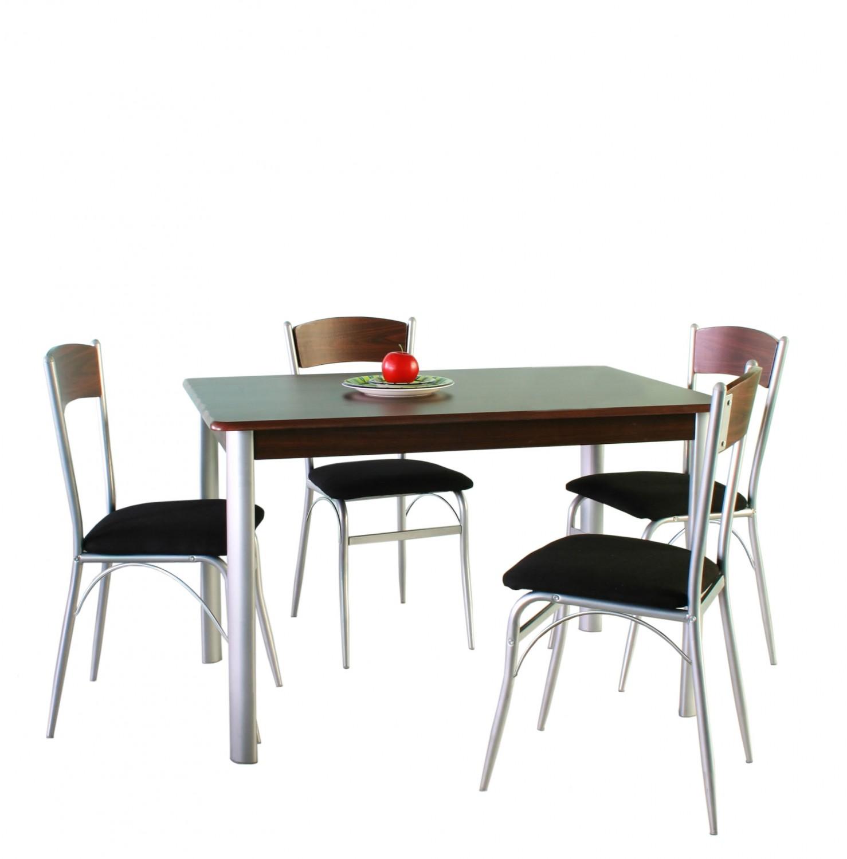 dedeman set masa fixa bucatarie cu 4 scaune ds25082 1c