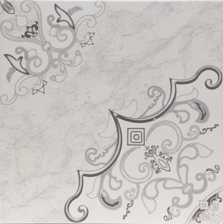 Gresie decor interior, universala, Viena gri lucioasa PEI. 3 33.3 x 33.3 cm