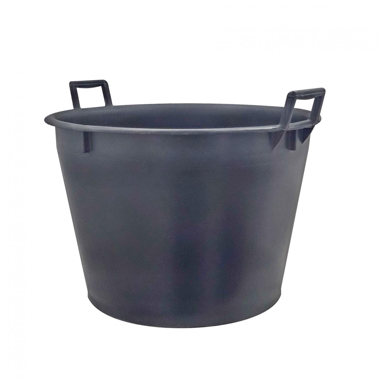 Ciubar Napochim, negru, din plastic, cu manere, 63 x 40 cm, 70L