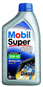 Ulei motor auto Mobil Super Diesel 1000 X1, 15W-40, 1 L