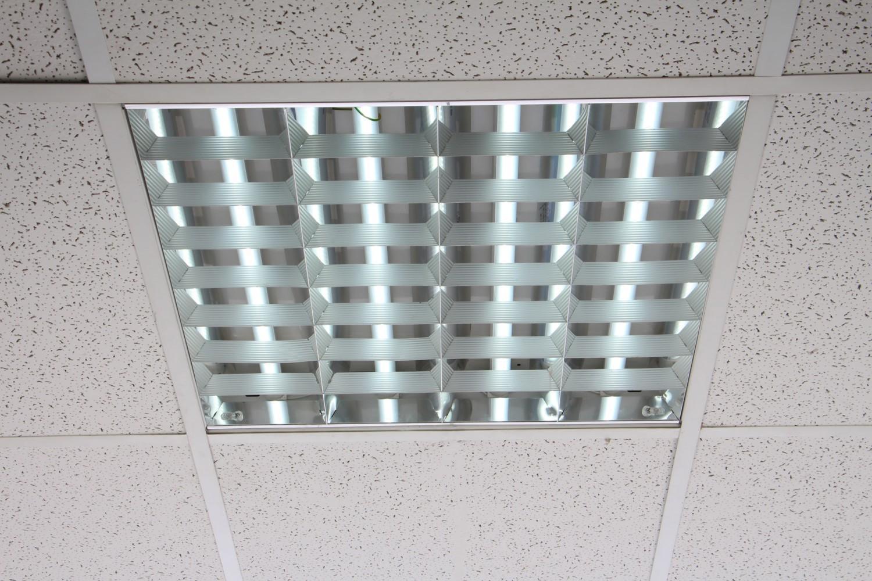 Corp iluminat Firi 03 HF-S 21334164, 4 x 18W, reflector drept, 7 lamele
