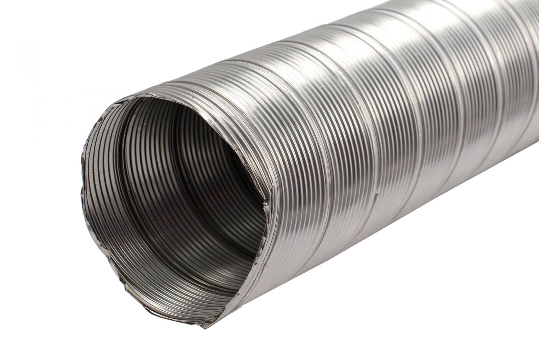 Tub flexibil din inox, D 90 mm