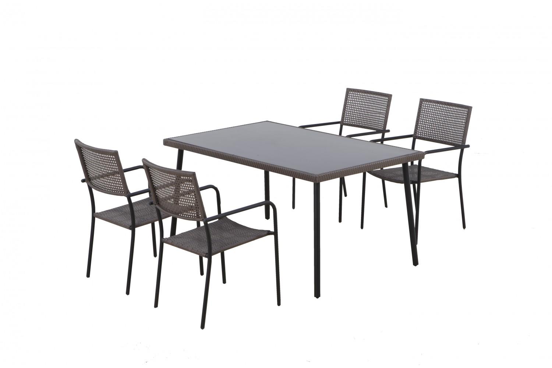 Dedeman set masa cu 4 scaune pentru gradina etna for Masa cu scaune dedeman