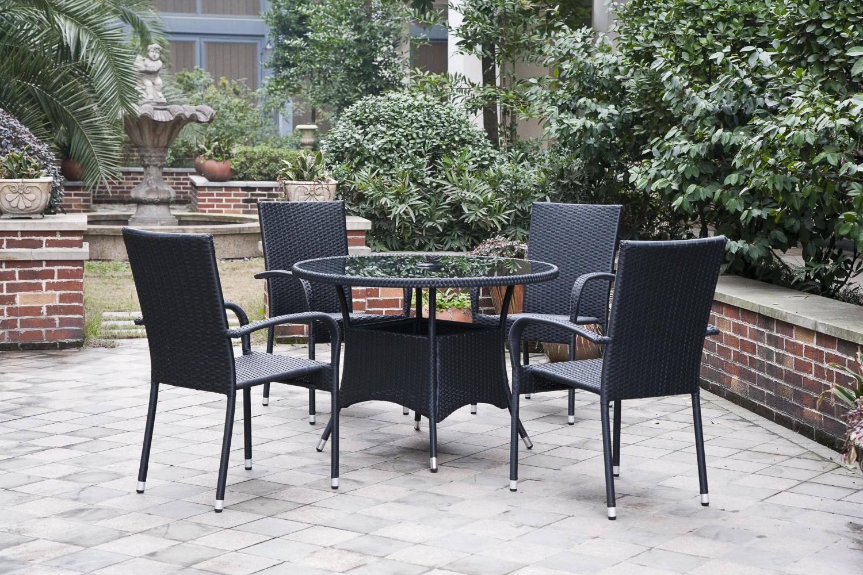 Dedeman set masa cu 4 scaune pentru gradina haiti din for Masa cu scaune dedeman