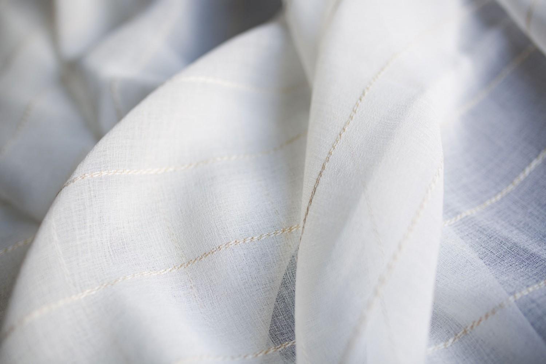 Perdea Anissa, PES 100%, alb, H 280 cm