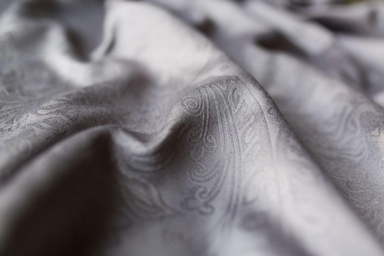 Draperie Cora, PES 100%, gri, H 280 cm