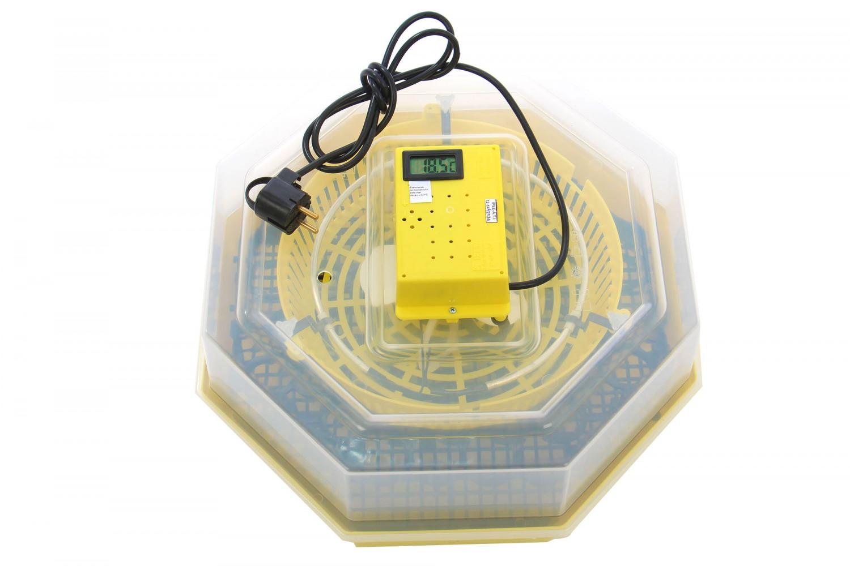 Incubator electric pentru oua, Cleo 5DT, cu dispozitiv intoarcere, termometru