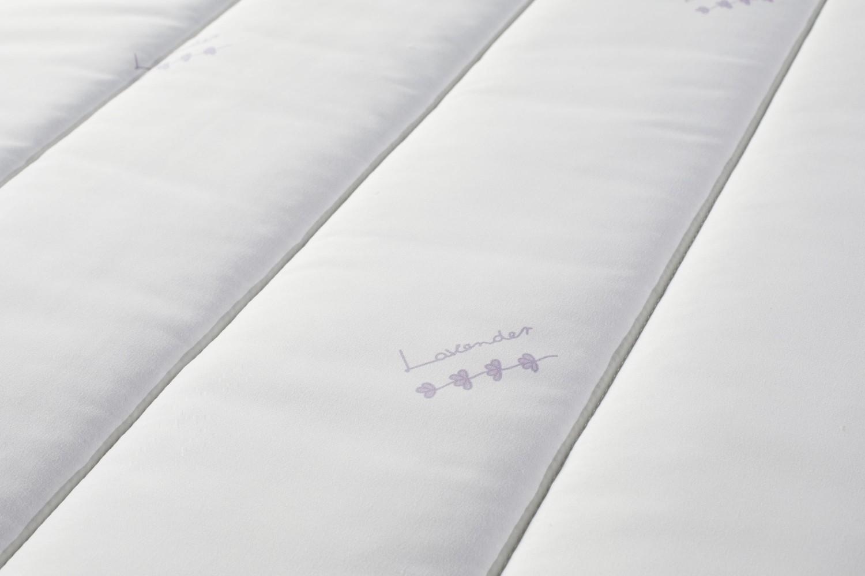 Saltea pat Bedora Vitality + topper Lavanda Therapy, ortopedica, cu spuma poliuretanica, fara arcuri, 90 x 200 cm