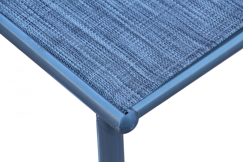 Set masa cu 6 scaune pentru gradina Oslo SPT-00066 din metal cu textil