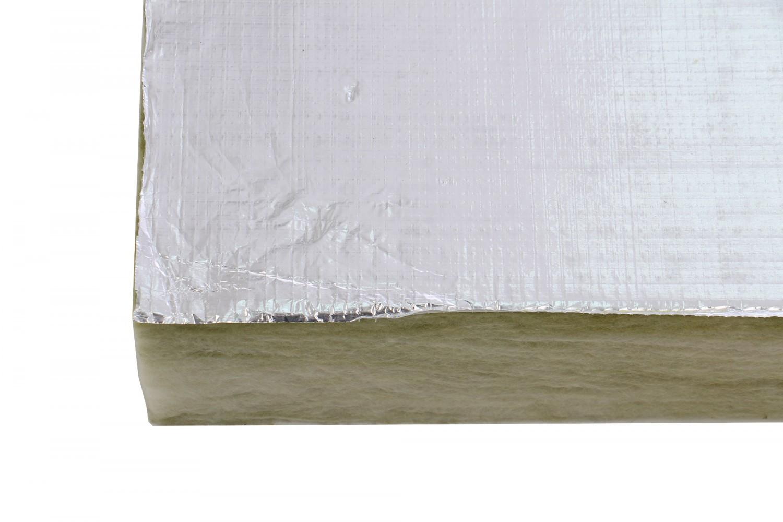 Vata minerala, placa semirigida, Baudeman GW, caserata cu aluminiu, 1200 x 600 x 100 mm