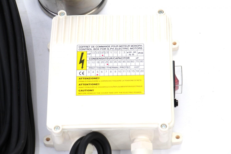 Pompa submersibila inox WTX 2460 - 75