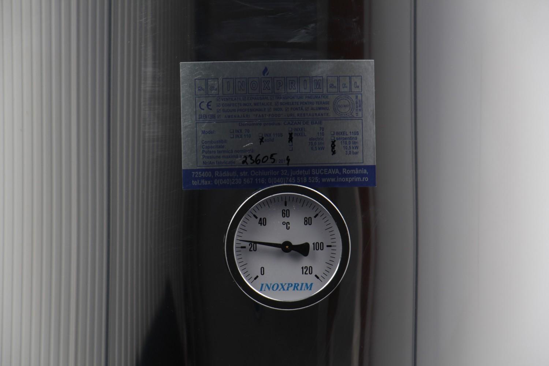 Boilerbaie INXE L 110 pe  Lemne cu rezistenta 2 kW 110 L