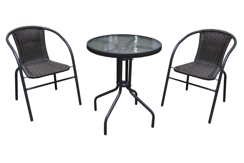 Dedeman set masa cu 2 scaune pentru gradina bistro for Masa cu scaune dedeman