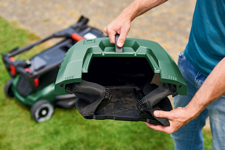 Masina de tuns iarba, electrica Bosch Advanced Rotak 650, 1700 W + trimmer cadou