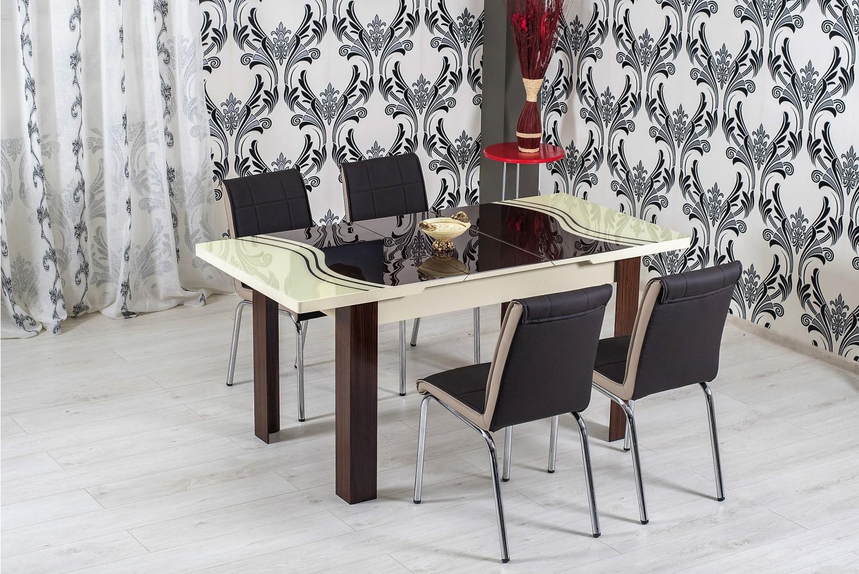 Dedeman set masa extensibila cu 6 scaune bucatarie r334 for Masa cu scaune dedeman