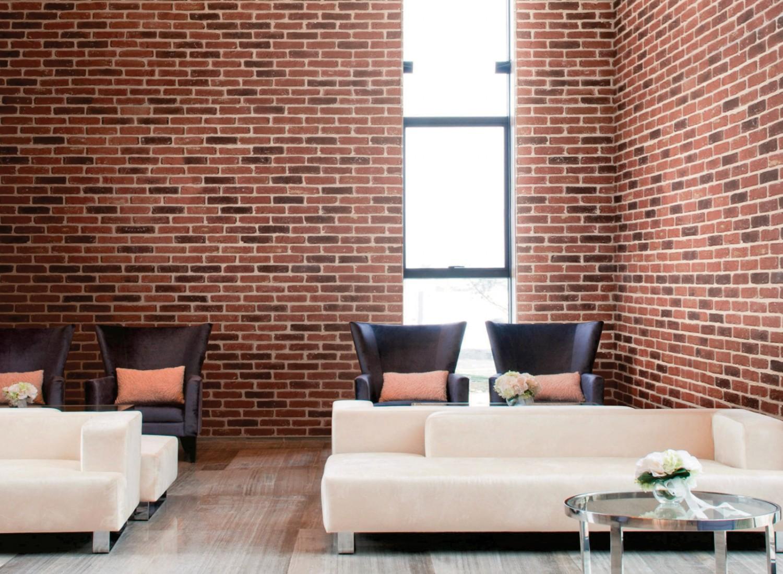 Piatra decorativa, interior, Modulo Cambridge, mixt rosu (cutie= 1 mp)
