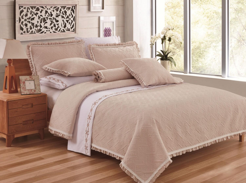 Cuvertura de pat, Caressa, 1785, 100 % bumbac, 220 x 240 cm