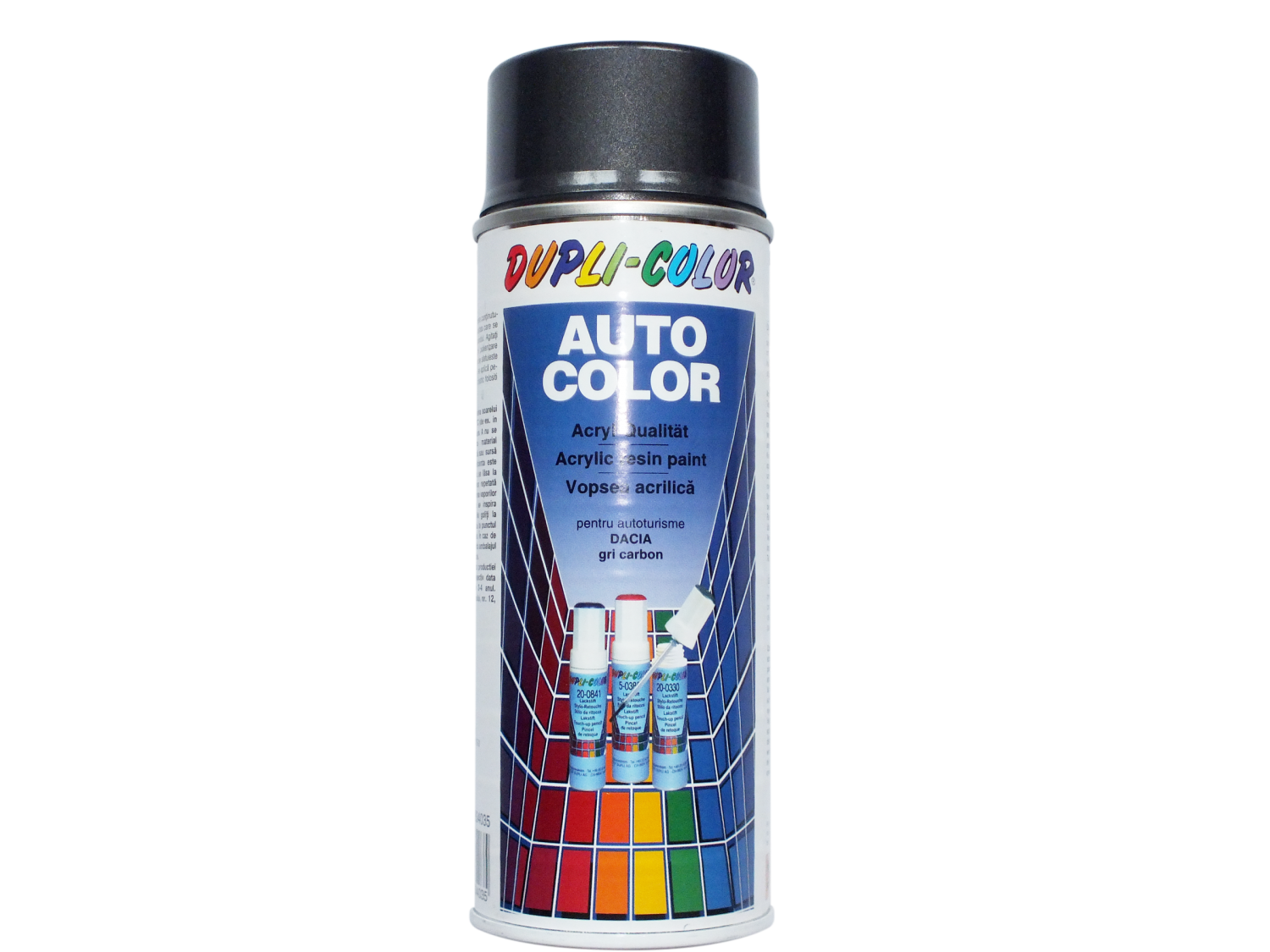 Spray vopsea auto, Dupli - Color, gri carbon metalizat, interior / exterior, 350 ml