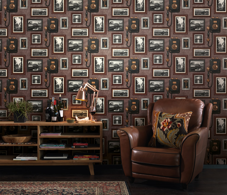 Tapet hartie Rasch Tiles & More XIV 307917 10 x 0.53 m