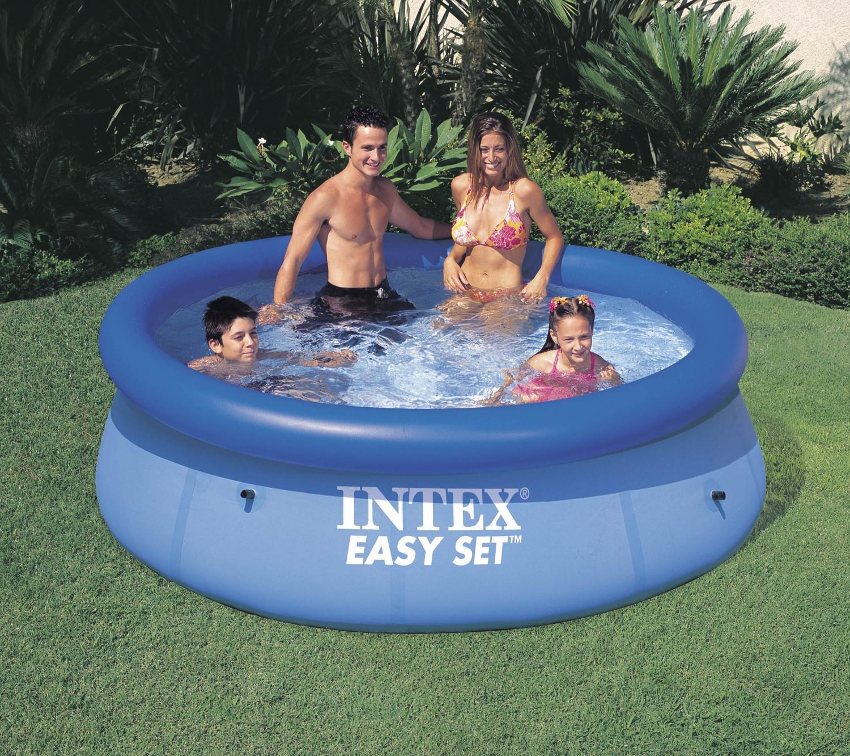 Dedeman piscina gonflabila intex easy set clearview 56970 for Piscina intex easy set
