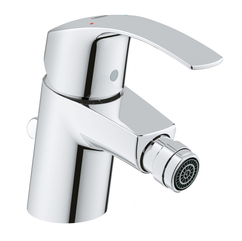 Baterie baie pentru bideu Grohe Eurosmart New 32929002, monocomanda, finisaj cromat