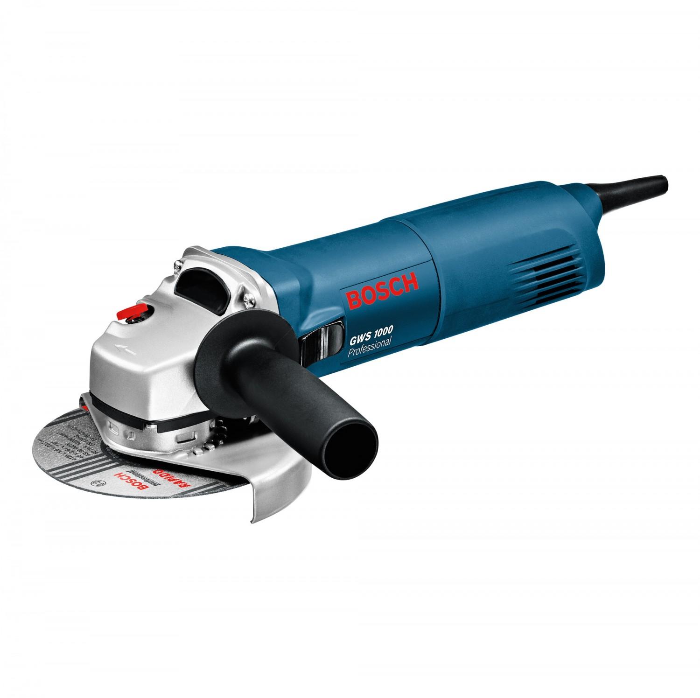 Polizor unghiular Bosch Professional GWS 1000-125, 1000 W