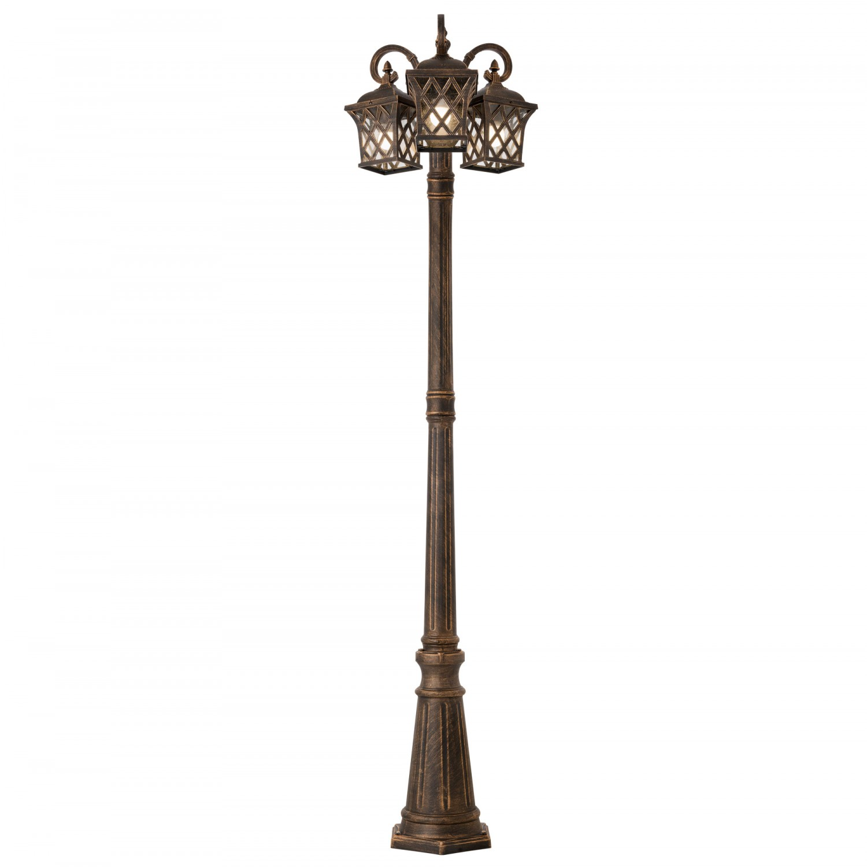 Stalp de iluminat ornamental Bremen 9954, 3 x E27, 220 cm