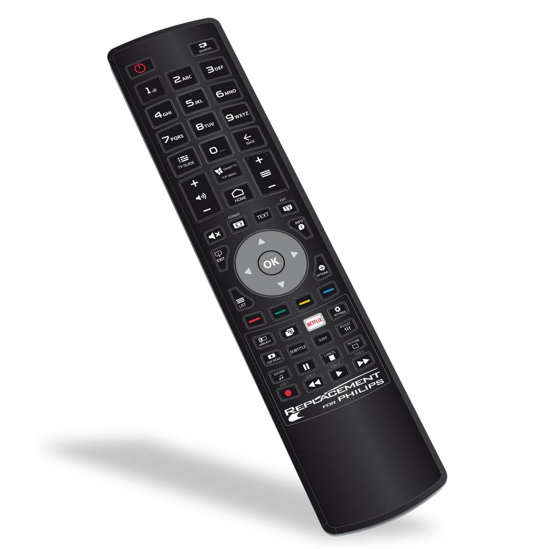 Telecomanda universala pentru televizoare PHILIPS, Jolly, neagra