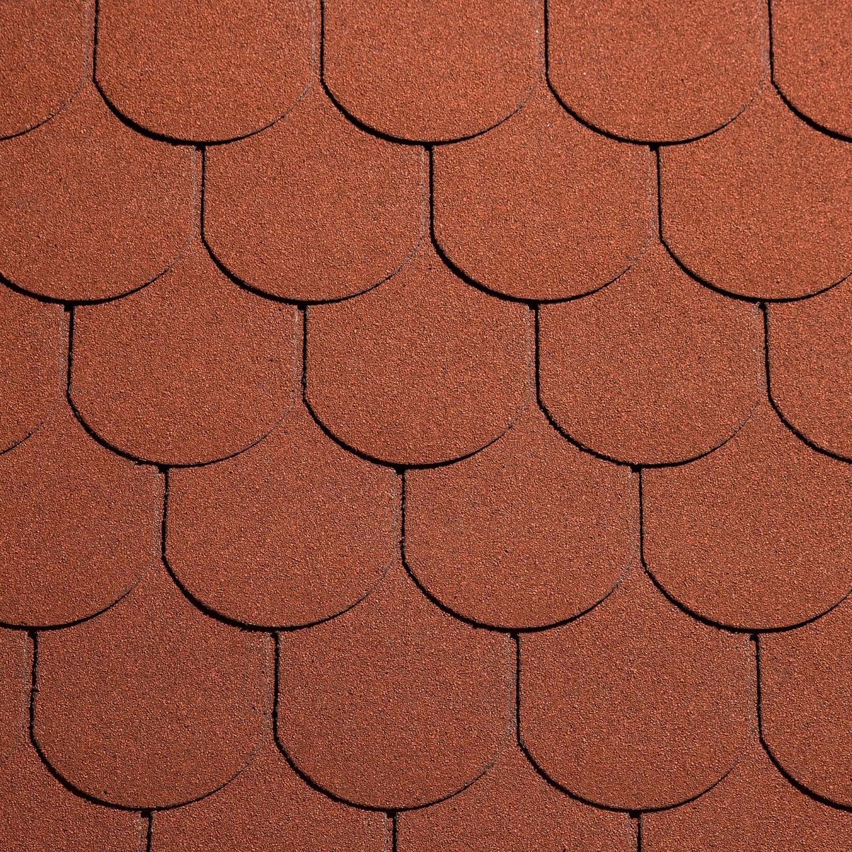 Sindrila bituminoasa Eco Roof traditional rosu TRP