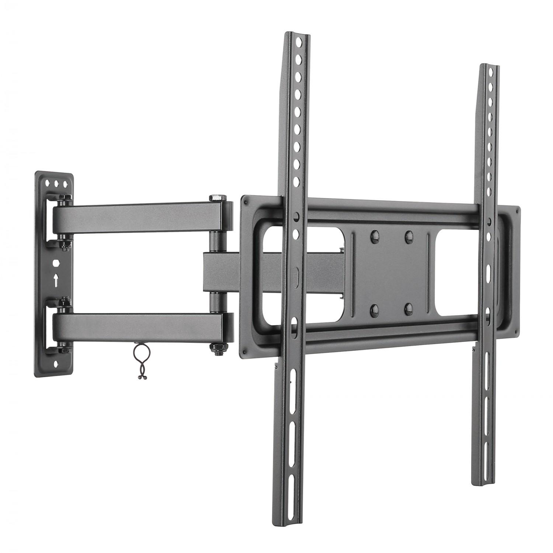 Suport TV LCD / LED, pe perete, LCD 115, reglabil, 80 - 140 cm, 35 kg, negru