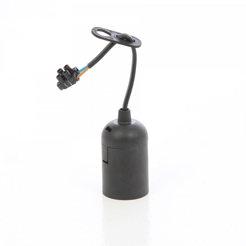 Dulie E27 ebonita Unitec 45616L pentru lampa