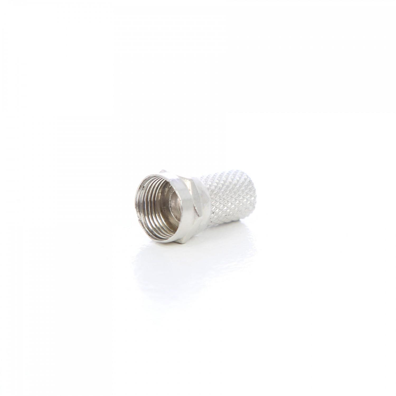 Conector F 6.4 mm FC-010X4-BW - set 4 buc